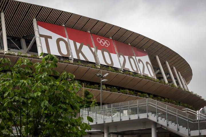 無観客開催となった今回のオリンピック。選手だけでなく、記者たちも戸惑いを隠せない。(C)Getty Images