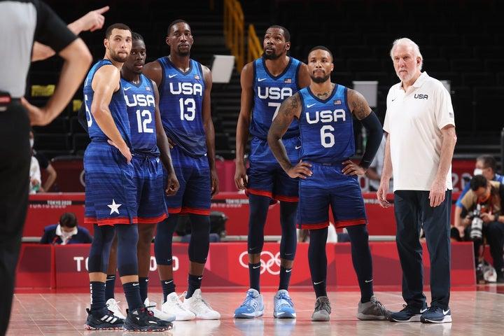 ウィンドホースト記者はアメリカを「タレントレベルは今大会で№1」と評したが、チームリーダーとケミストリー不足を問題に挙げた。(C)Getty Images