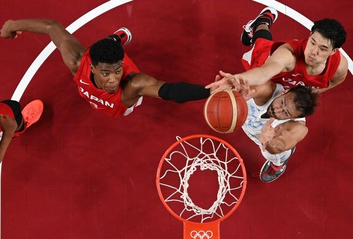 日本はアルゼンチンに敗れ、予選ラウンド敗退となった。(C)Getty Images