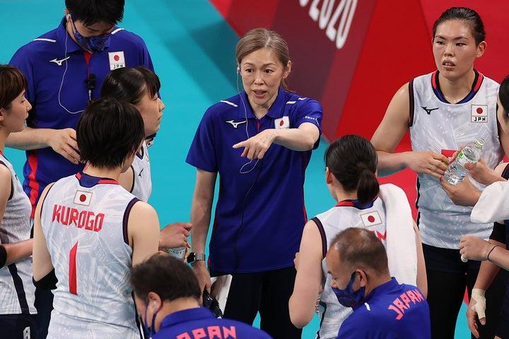 中田監督率いる日本チームは現在1勝3敗。1次リーグ突破を懸けて、ドミニカ共和国戦に挑む。(C)Getty Images