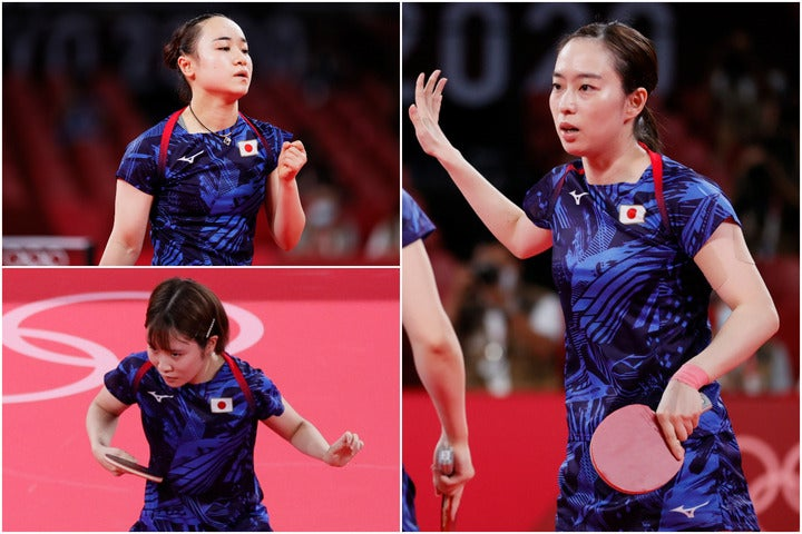 惜しくも頂点には届かなかった日本だが、2大会ぶりの銀メダルに輝いた。(C)Getty Images