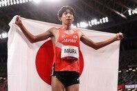 順天堂大2年の三浦が大舞台で日本人初の7位入賞を飾った。(C)Getty Images