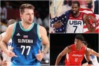 東京五輪で4連覇を達成したアメリカが前回から変わらず1位。スロベニアと日本はともに大きく順位を上げた。(C)Getty Images