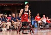 車いすバスケ男子初の銀メダルを獲得。鳥海は8得点、18リバウンドの奮闘を見せた。(C)Getty Images