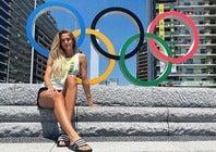 東京五輪は「楽しい思い出ばかり」と振り返るシュミット。3年後のパリに想いを馳せる(写真は公式インスタグラムより)。
