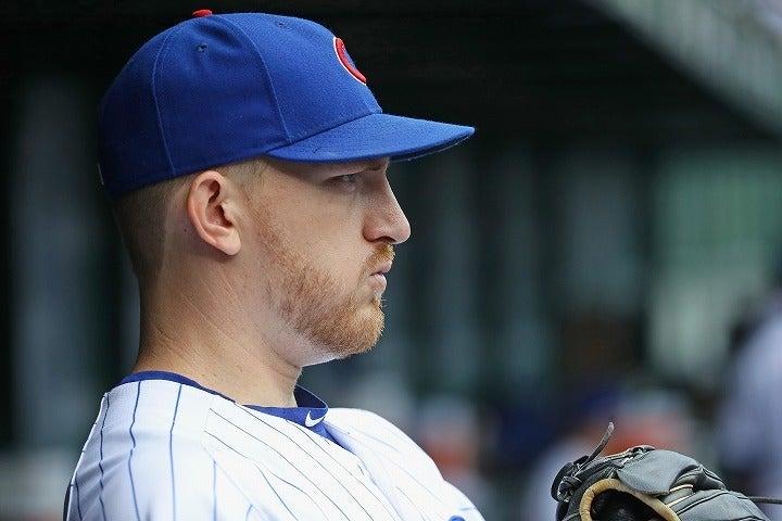 カブスやロイヤルズで活躍したモンゴメリー。MLBでも知名度のある投手の驚きの行動が物議を醸している。(C)Getty Images