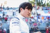接触で思うような結果を残せなかった角田は、決勝15番手でスタートする。(C)Getty Images