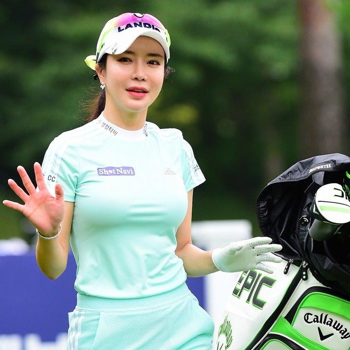 今年7月、韓国女子ツアーに招待参戦した際のアン・シネ。日本での本格復帰が待望される。(C)AFLO