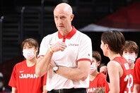 男子のヘッドコーチに就任したトム・ホーバス氏。東京五輪の功績から仏メディアが警戒する。(C)Getty Images