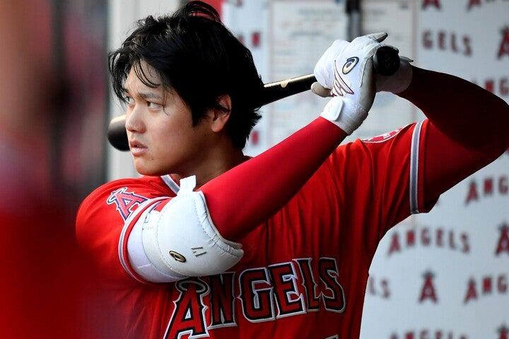 本塁打王に向けて大事な打席が続く中、この日はまともにバットを振ることもできていない。(C)Getty Images