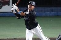 打撃が課題とされているが、フレッシュ・オールスターでは三塁打を放った小川。今後の活躍が注目される。写真:産経新聞社