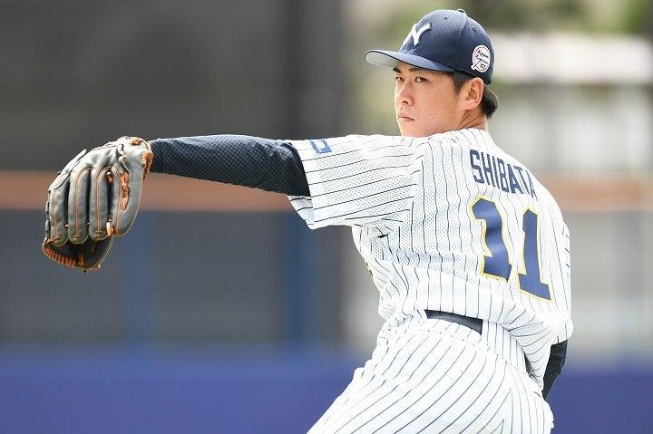 高校から名門・日体大へ進学した柴田。彼が入った当時のチームはプロも注目する逸材の宝庫だった。写真:徳原隆元