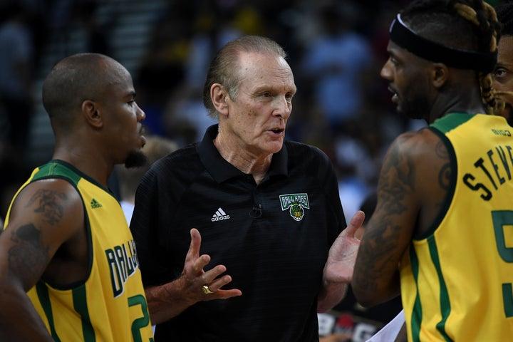 バリーはGOAT論争について「どうしても選びたいなら、ポジション別に選手を選ぶべき」と持論を展開した。(C)Getty Images
