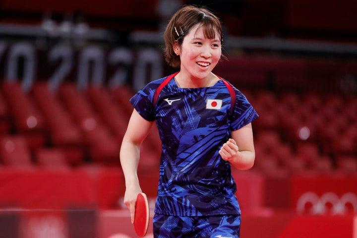 東京五輪では団体戦で銀メダルを獲得した平野。SNSでオフの私服姿を披露した。(C)Getty Images