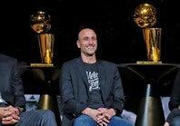 スパーズ一筋で4度の優勝に貢献したジノビリ。巧みな技の数々は多くのディフェンダーを悩ませた。(C)Getty Images
