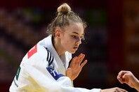 東京五輪では銅メダルを獲得したビロディドは、3年後に向けてトレーニングを積んでいる。(C)Getty Images