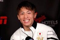 プロ21戦で負けなし18KOという成績の井上。英紙が独自に作ったパワーランキングで世界トップ3の座に据えた。(C)Getty Images