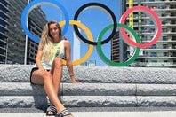 東京五輪は悔しい結果に終わったシュミット。3年後のパリでのリベンジを期す(写真は公式インスタグラムより)。